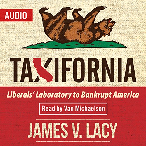 Taxifornia audiobook cover art