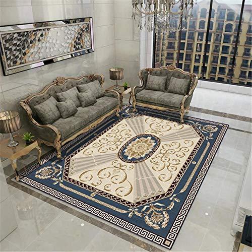 Xiaosua Mildew Proof geluiddichte Sitting Roomes tapijten Oosterse hof stijl kristal fluwelen tapijt, machine wasbaar tapijt, kinderen klimmen tapijt stofdicht tapijt