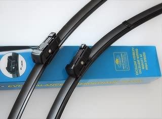 2 escobillas de limpiaparabrisas Aero de 66 cm para Atego Axor Powerliner Cityliner camiones T/ÜV certificado