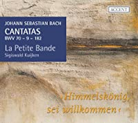 J.S.バッハ : カンタータ集 Vol.18 (Johann Sebastian Bach : Cantatas BWV 70 - 9 - 182 ~ Himmelskonig sei willkommen / La Petite Bande , Sigiswald Kuijken) [SACD Hybrid] [輸入盤]