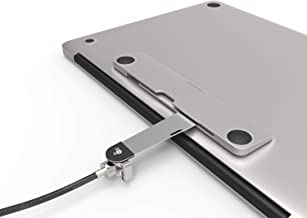 Security Slot Blade for Laptops - Maclocks Universal Locking Bracket for MacBook Pro, Air, Notebooks & Tablets. Color: Silver. (BLD01)