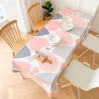 LMWB Bordsskydd, bordsduk, bomull och linne bordsduk vattentät och oljesäker engångsbord soffbord bordsduk hushåll-H_100 x...