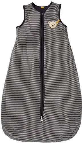Steiff Unisex - Baby Schlafanzug (Einteiler) 6322870, Gr. L90, Blau (Steiff marine)