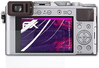 2x protector de pantalla mate Panasonic Lumix dmc-lx100 lámina protectora