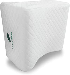 Cushy Form Knee Pillow for Side Sleepers – Sciatic Nerve Pain Relief Leg Pillow..