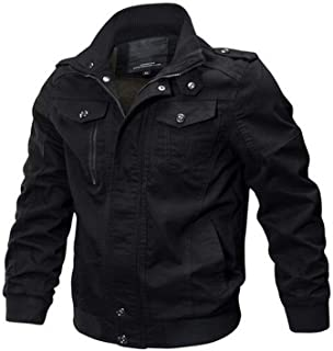 Mens Denim Jacket Big Size 6XL Military Tactical Jeans Jacket Solid Casual Air Force Pilot Coat