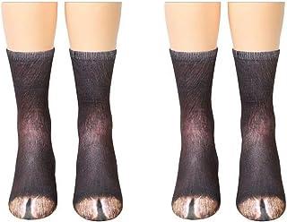 b5e1612101f Animal Paw Socks Paw Print 3D Socks Novelty cat dog elephant Paws Socks for Kids  Boys