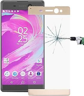 Telefon tillbehör För Sony Xperia XA Ultra 0.26mm 9H Ythårdhet explosionssäker Colorized Screentryck härdat glas Full Scre...