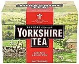 Taylors of Harrogate Yorkshire, Black Tea 160 bolsas - 3 unidads