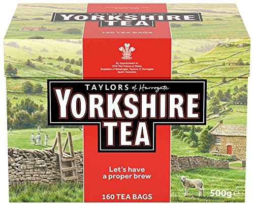 Yorkshire Tea (Pack of 3, Total 480 Bags)