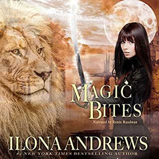 Magic Bites     Kate Daniels, Book 1              Written by:                                                                                                                                 Ilona Andrews                               Narrated by:                                                                                                                                 Renée Raudman                      Length: 9 hrs and 5 mins     27 ratings     Overall 4.4