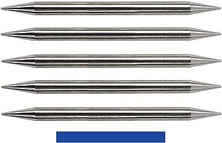 Pre-Ground TIG Tungsten Sharpened Electrodes Blue 2% Lanthanated 5-Pack (3/32