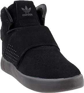 adidas Kids Unisex Originals Tubular Invader Strap Shoes (4.5) Black