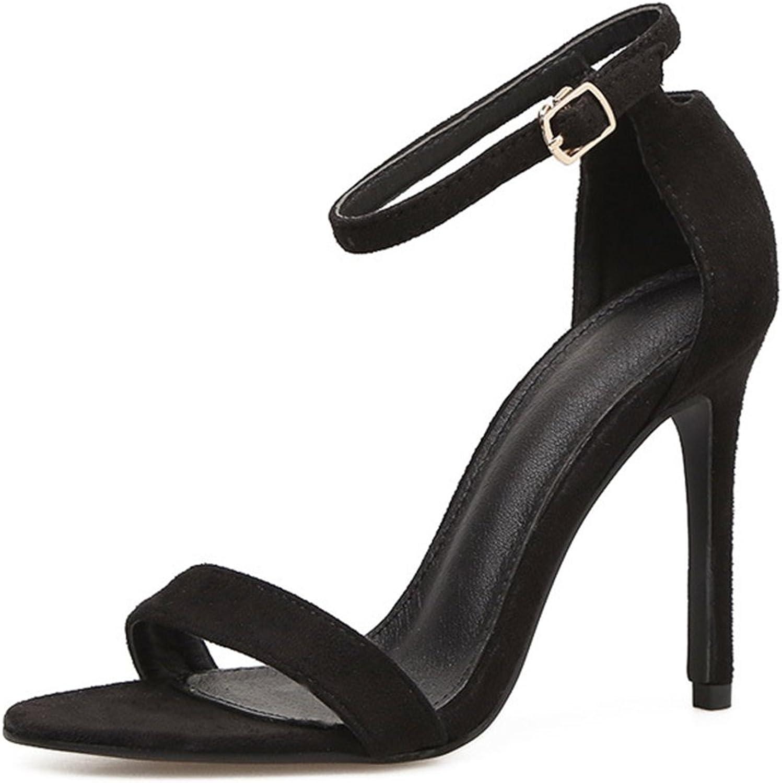 Aisun Damen Sexy Offene Zehen Knöchelriemchen Stiletto Sandale mit Schnalle Schnalle Schnalle  d504c9