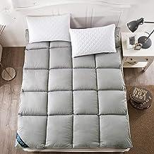 Japanese Futon Mattress,Foldable Thick Sleep Mattress, Ultra Soft Breathable Japanese Futon Floor Mat Portable Student Dor...