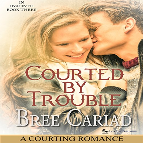 Courted by Trouble: A Courting Romance audiobook cover art
