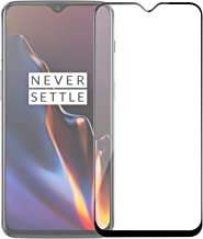 POPIO Tempered Glass for OnePlus 6T ; OnePlus 7 (Black) Edge to Edge Full Screen Coverage with Installation Kit
