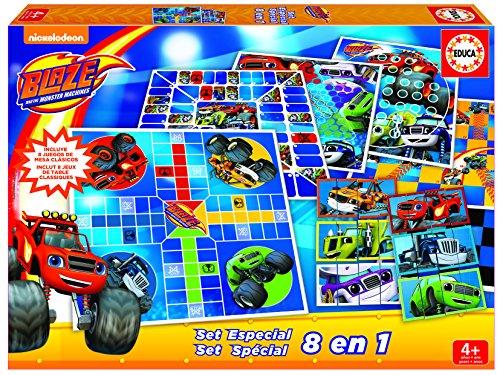 Blaze - Set Especial de 8 Juegos (Educa Borrás 16855)