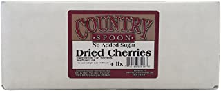 No Sugar Added Dried Tart Montmorency Cherries (4 lb.) by Country Spoon