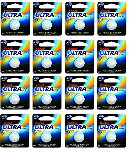 Kodak ultra CR20323V al litio batteria a bottone EXP 2023* 16Pack *