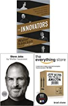 Innovators [Hardcover], Steve Jobs, The Everything Store 3 Books Collection Set