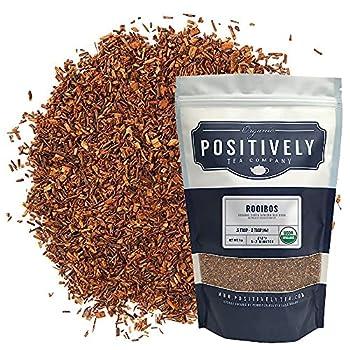 Organic Positively Tea Company South African Rooibos Tea Loose Leaf 16 Ounce