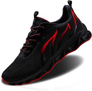 Men Athletic Running Shoes Mesh Blade Casual Tennis Sneaker Fashion Walking Lightweight Outdoor Sport