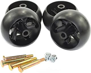 Antanker Replacement Craftsman 133957 Deck Wheel Kit for AYP MTD 174873 532133957 734-3058 Deck Wheel 4 Pack