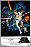 PremiumPrints - Star Wars Original Episode IV A New Hope Movie Poster Glossy Finish Made in USA - FIL328 (24' x 36' (61cm x 91.5cm))