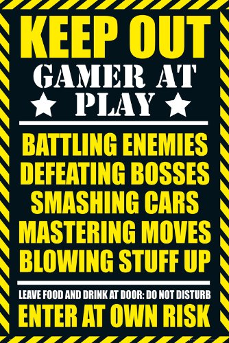 GB eye LTD, Gaming, Keep out - Clean, Maxi Poster, 61 x...