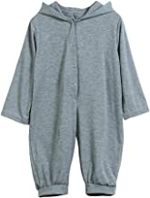 Palarn Toddler Clothes for Boys Girls, Dinosaur Hooded Jumpsuit, Cute Romper