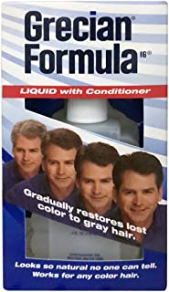 Grecian Formula 16 Liquid with Conditioner 4 oz. #201 (3-Pack)