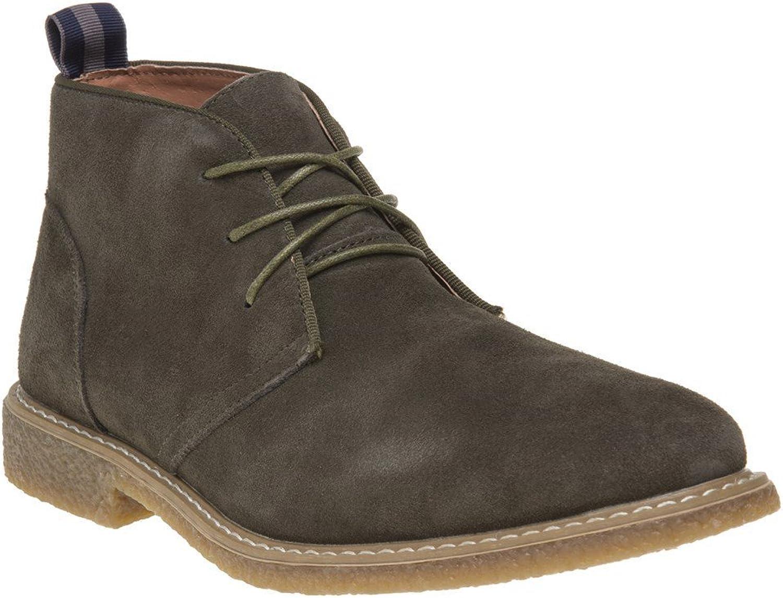 Peter Werth Idris Boots Khaki