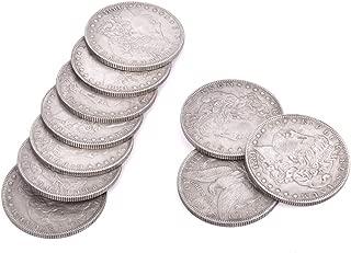 【手品 マジック】モルガンダラー マジックコイン 10枚セット 直径3.8cm 厚さ0.2cm ステージ 小道具 近景舞台マジック マジックアイテム 手品道具
