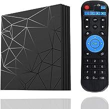 Android 9.0 TV Box, [4GB+64GB]EVANPO Quad Core Smart TV Box Android Box Media Player Support USB 3.0 / 3D/ 4K/ 6K/ H.265/ ...