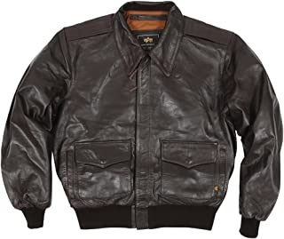 Men's A-2 Leather Flight Jacket