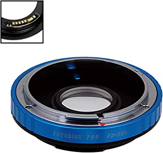 Fotodiox Pro Lens Mount Adapter Compatible with Canon FD & FL 35mm SLR Lens to Canon EOS (EF, EF-S) Mount D/SLR Camera Bod...