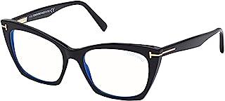 Tom Ford FT 5709-B BLUE BLOCK Shiny Black 54/17/140 women Eyewear Frame