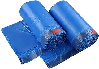 Fiaze 1.2 Gallon Drawstring Small Trash Bags, 200 Counts (Blue)