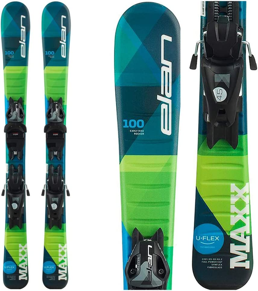 Elan Max 70% OFF Maxx Direct sale of manufacturer 7.5 Kids Skis Bindings EL 2020-140cm with