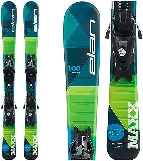Elan Maxx 7.5 Kids Skis with EL 7.5 Bindings 2020-150cm