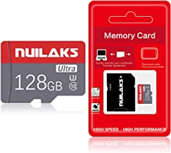 128GB Micro SD Card with SD Card Adapter High Speed Micro...