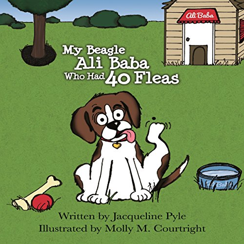 My Beagle Ali Baba Who Had 40 Fleas: A Counting Book for Young Children audiobook cover art
