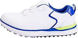 WUDAXIAN Children's Golf Shoes, Waterproof Shoes for Boys and Girls, Youth Non-Slip Soles Golf Sneakers with Rotating Shoe...
