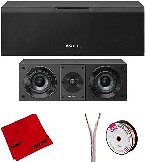 Sony SS-CS8 2-Way 3-Driver Bass Reflex Speaker w/Deco Gear Accessories Bundle