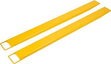 Orion Motor Tech 2 Fork Extensions 84 inches, 5.5 inches Wide Pallet Fork Extensions, Fork Lift Forklift Attachment Steel Extenders