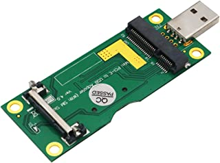 Mini PCI-E to USB Adapter with SIM Card Slot for WWAN/LTE modules for 3G / 4G Network Cards