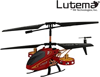 Lutema MIT5CAVHR Avatar 2 Hovercraft 4CH Remote Control Helicopter , Red