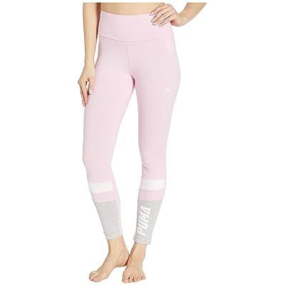 PUMA Athletics Graphic Leggings (Pale Pink) Women