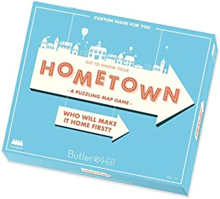 Hometown! - A Personalized Map Jigsaw Puzzle Game